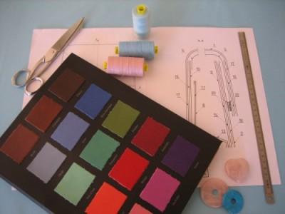 Conception et création de sacs et accesoires faits mains