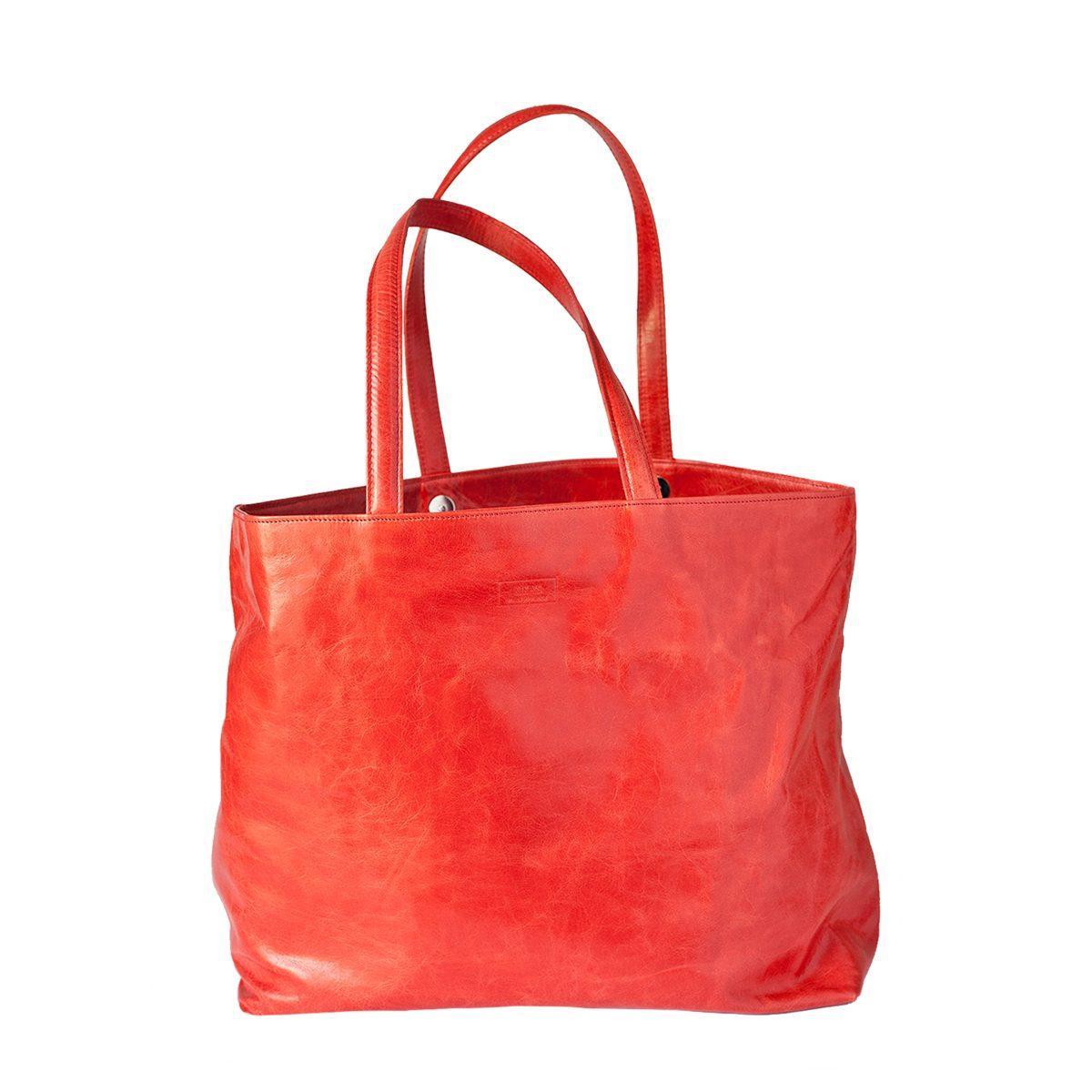 Grand sac cabas fourre-tout en cuir